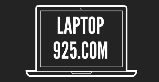 Laptop 925 Main Logo Black