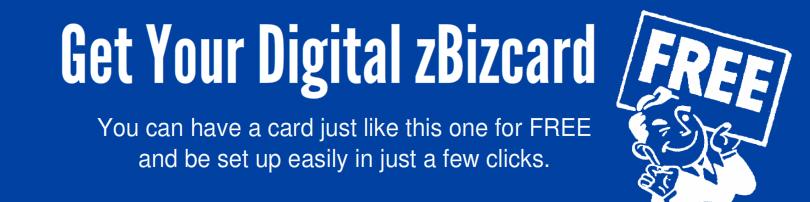 bizcard free banner